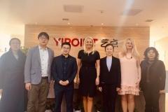 Susitikimas Kinijoje su Tianjin Women's federation