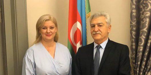 Kristina L. Aleknienė susitiko su Azerbaidžano Respublikos ambasadoriumi Dr. Tamerlanu Qarajevu.