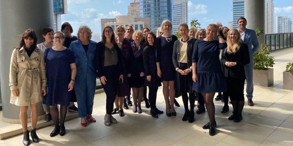 IBWN moterų organizacijos vizitas Izraelyje
